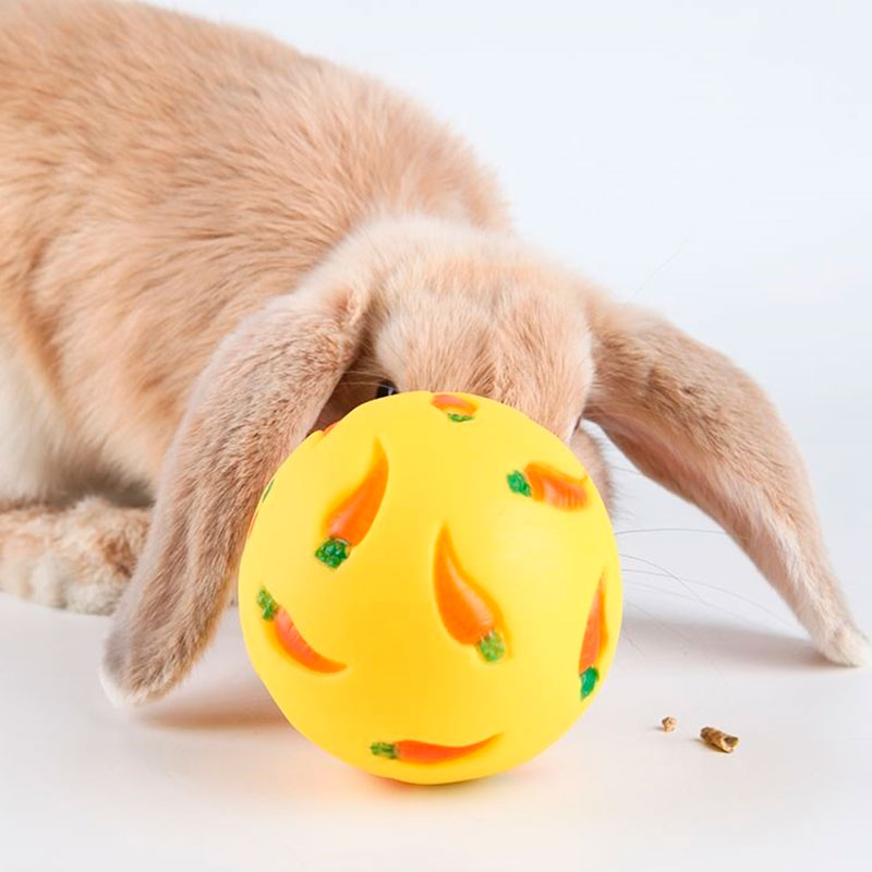 Balle pour lapin